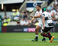 Twickenham, Surrey, United Kingdom.  England Prop,  Ellis GENGE, during the, Old Mutual Wealth Cup, England vs Barbarian's match, played at the  RFU. Twickenham Stadium, on Sunday   28/05/2017England    <br /> <br /> [Mandatory Credit Peter SPURRIER/Intersport Images]