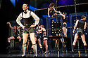 CABARET, starring Will Young and Michelle Ryan, making their West End Theatre debuts, and choreographed by Javier de Frutos, opens at the Savoy Theatre. The production has been completely reimagined by Rufus Norris. Picture shows: Will Young (Emcee) and the ensemble.