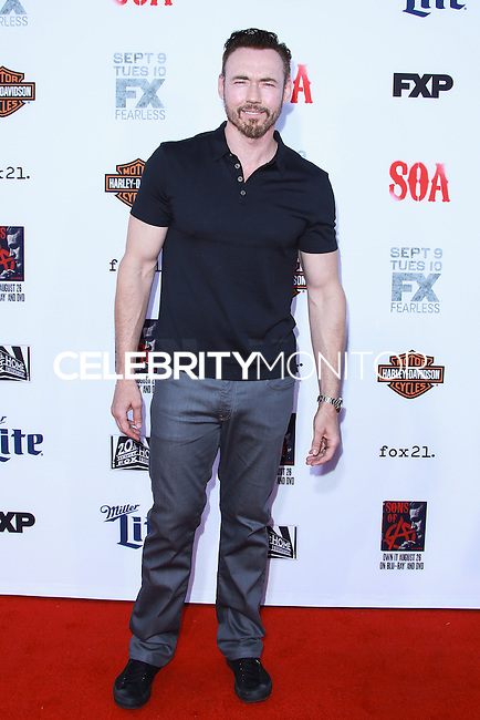 HOLLYWOOD, LOS ANGELES, CA, USA - SEPTEMBER 06: Kevin Durand arrives at the Los Angeles Premiere Of FX's 'Sons Of Anarchy' Season 7 held at the TCL Chinese Theatre on September 6, 2014 in Hollywood, Los Angeles, California, United States. (Photo by David Acosta/Celebrity Monitor)