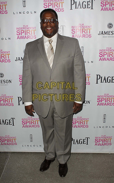 Wendell Pierce.2013 Film Independent Filmmaker Grant And Spirit Awards Nominees Brunch held at BOA Steakhouse, West Hollywood, California, USA..January 12th, 2013.full length grey gray suit .CAP/ADM/KB.©Kevan Brooks/AdMedia/Capital Pictures.