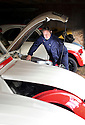 07/05/14<br /> <br /> The cars are prepared in Hampshire ahead of the rally.<br /> <br /> McLaren's Team Manager Alastair Caldwell helped James Hunt to F1 victory in 1976. <br /> <br /> The motor racing legend has just completed another challenge of similar magnitude. Winning a 2000 mile rally around Morocco, driving a French classic that boasts a measly 29 brake horse power - a Citroen 2CV.<br /> <br /> Driving one of 16 2CVs recently rebuilt from the ground-up with roll cages and rally equipment by 2CV Adventures, Alistair joined other drivers in a rally named The Marrakech Express that saw the little cars, once the butt of motoring jokes, take in the mountains and deserts of Northern Africa. <br /> <br /> Special regularities, or stages, tested the tin snails' ability to maintain an average speed over a given distance. Often these dizzying average speeds were over 30 mph and tested the mettle of drivers, navigators and the cars to the limit.<br /> <br /> A support crew kept all the cars on the road and kept Alistair and the other drivers stocked-up with spare wheel-rims - 102 in total - tyres, engines and gearboxes. <br /> <br /> Alistair who claimed to have only let ten cars pass him over the whole ten days, said: &quot;You have to keep momentum, if you slow down you're finished for hours.<br /> <br /> &quot;You wouldn't say the handling was that good but it's certainly funny&quot;.<br /> <br /> The Marrakech Express was the first of many rallies planned for the 2CVs across Europe and northern Africa over the next few years. They are targeted at rally enthusiasts who can just turn and pay to drive a ready-prepared car in a fully supported event.<br /> <br /> All Rights Reserved: F Stop Press +44 (0)1335 300098