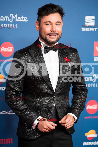 Miguel Poveda attends to the photocall of the Gala Sida at Palacio de Cibeles in Madrid. November 21, 2016. (ALTERPHOTOS/Borja B.Hojas) //NORTEPHOTO.COM