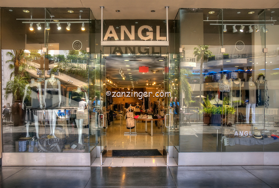 ANGL, Women's Fashion Apparel and Accessories, Kodak Shopping Center, Hollywood Highland, Hollywood, CA,