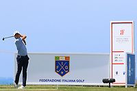 Joakim Lagergren (SWE) during the second round of the Rocco Forte Sicilian Open played at Verdura Resort, Agrigento, Sicily, Italy 11/05/2018.<br /> Picture: Golffile | Phil Inglis<br /> <br /> <br /> All photo usage must carry mandatory copyright credit (&copy; Golffile | Phil Inglis)
