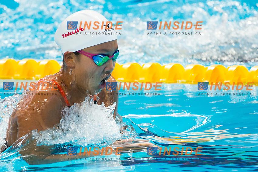 WATANABE Kanako JPN<br /> Swimming - Women's  200m breaststroke heats<br /> Day 14 06/08/2015<br /> XVI FINA World Championships Aquatics Swimming<br /> Kazan Tatarstan RUS July 24 - Aug. 9 2015 <br /> Photo Giorgio Perottino/Deepbluemedia/Insidefoto