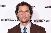 "Matthew McConaughey<br /> arriving for the ""White Boy Rick"" screening at the Picturehouse Central, London<br /> <br /> ©Ash Knotek  D3462  27/11/2018"