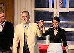 "Curtain call - Bill Tatum - David M. Mead - Dee Dee Friedman - Tartuffe - 1st preview January 13, 2011 of Moliere's ""Tartuffe"" from Jan. 13 to Jan 29 at the WorkShop Theatre, New York City, New York. (Photo by Sue Coflin/Max Photos)"