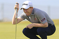 Gavin Moynihan (IRL) on the 3rd green during Thursday's Round 1 of the Dubai Duty Free Irish Open 2019, held at Lahinch Golf Club, Lahinch, Ireland. 4th July 2019.<br /> Picture: Eoin Clarke | Golffile<br /> <br /> <br /> All photos usage must carry mandatory copyright credit (© Golffile | Eoin Clarke)