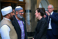 NZ Prime Minister Jacinda Ardern meets with reigious community leaders. Members of the NZ Parliament pay tribute to Christchurch terror attack victims at Parliament in Wellington, New Zealand on Monday, 18 March 2019. Photo: Dave Lintott / lintottphoto.co.nz