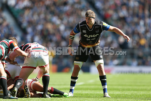 Tom Ellis of Bath Rugby looks on. The Clash, Aviva Premiership match, between Bath Rugby and Leicester Tigers on April 8, 2017 at Twickenham Stadium in London, England. Photo by: Rogan Thomson / JMP for Onside Images