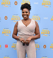 Brenda Edwards attends The Secret Diary Of Adrian Mole Aged 13 ¾ musical adaptation of Sue Townsend's comic fiction which opens in Adrian's 50th birthday year and follows the daily dramas and misadventures of the teenager's adolescent life, at Ambassadors Theatre, London, England on July 02, 2019.<br /> CAP/JOR<br /> ©JOR/Capital Pictures