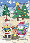 Interlitho-Dani, CHRISTMAS SANTA, SNOWMAN, WEIHNACHTSMÄNNER, SCHNEEMÄNNER, PAPÁ NOEL, MUÑECOS DE NIEVE, paintings+++++,santa,snowman,reindeer,KL6105,#x#