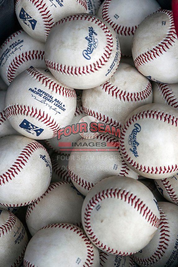 Pacific Coast League baseball on May 27, 2014 at the Dell Diamond in Round Rock, Texas. (Andrew Woolley/Four Seam Images)
