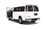 Car images close up view of a 2014 Chevrolet Express 2500 LS 2 Door Van doors