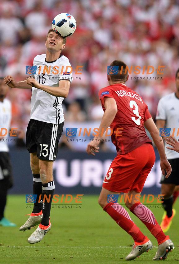 Thomas Muller (ger) <br /> Paris 16-06-2016 Stade de France Football Euro2016 Germany - Poland / Germania - Polonia Group Stage Group C. Foto Anthony Bibard / Panoramic / Insidefoto