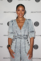 LOS ANGELES, CA - AUGUST 11: Angela Rye, at Beautycon Festival Los Angeles 2019 - Day 2 at Los Angeles Convention Center in Los Angeles, California on August 11, 2019. <br /> CAP/MPIFS<br /> ©MPIFS/Capital Pictures