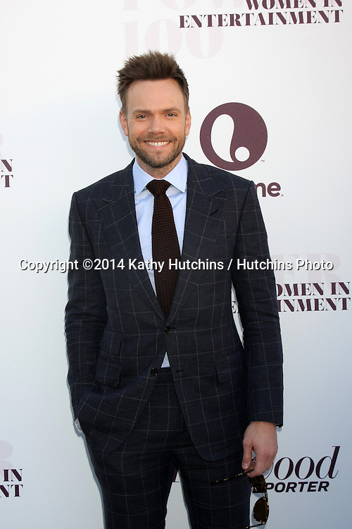 LOS ANGELES - DEC 10:  Joel McHale at the 23rd Power 100 Women in Entertainment Breakfast at the MILK Studio on December 10, 2014 in Los Angeles, CA