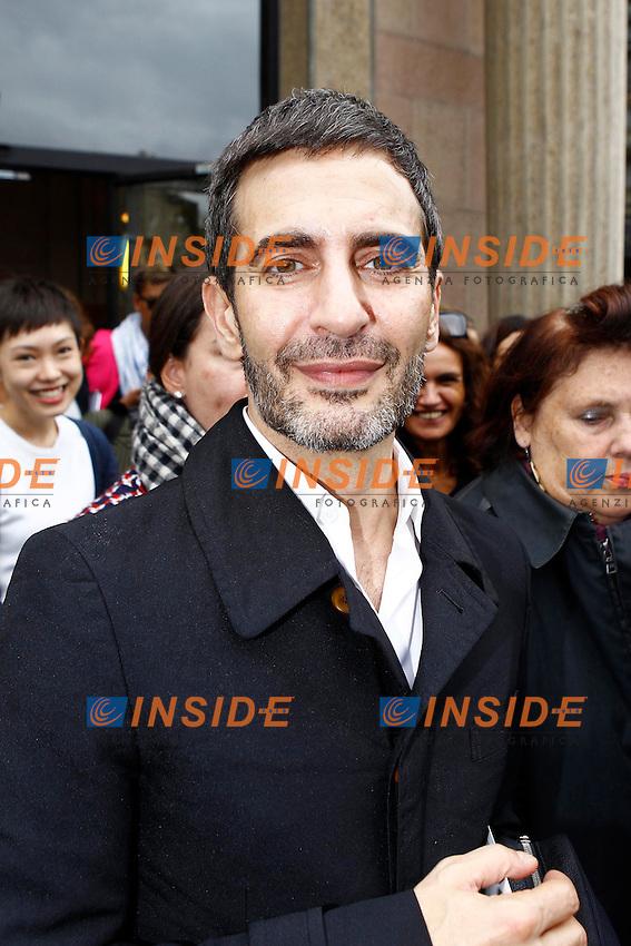 Marc Jacobs  .Parigi 3/10/2012.Parigi Fashion Week. Ospiti alla sfilata di Miu Miu.Foto Gwendaline Le Goff / Panoramic / Insidefoto.ITALY ONLY