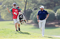 Shane Lowry (IRL) on the 10th green during round 1 at the WGC HSBC Champions, Sheshan Golf Club, Shanghai, China. 31/10/2019.<br /> Picture Fran Caffrey / Golffile.ie<br /> <br /> All photo usage must carry mandatory copyright credit (© Golffile | Fran Caffrey)