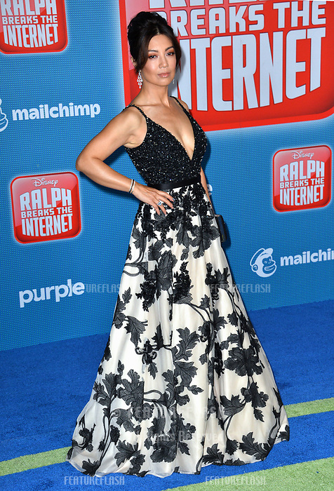 LOS ANGELES, CA. November 05, 2018: Ming-Na Wen at the world premiere of &quot;Ralph Breaks The Internet&quot; at the El Capitan Theatre.<br /> Picture: Paul Smith/Featureflash