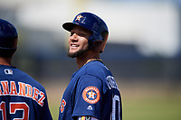 Houston Astros Yuli Gurriel (10) during a Minor League Spring Training Intrasquad game on March 28, 2018 at FITTEAM Ballpark of the Palm Beaches in West Palm Beach, Florida.  (Mike Janes/Four Seam Images)