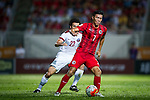 Hong Kong vs Qatar during their FIFA World Cup Qualifiers 2015 on September 08, 2015 at the Mong Kok stadium in Hong Kong, China. Photo by Moses NG / Power Sport Images