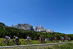 The breakaway group in action during Stage 19 of the 100th edition of the Giro d'Italia 2017, running 191km from San Candido/Innichen to Piancavallo, Italy. 26th May 2017.<br /> Picture: LaPresse/Fabio Ferrari   Cyclefile<br /> <br /> <br /> All photos usage must carry mandatory copyright credit (&copy; Cyclefile   LaPresse/Fabio Ferrari)