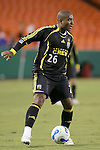 SEP 15  2007:  Andy Herron (26) of the Crew.  The MLS Kansas City Wizards defeated the visiting Columbus Crew 3-2 at Arrowhead Stadium in Kansas City, Missouri, in a regular season league soccer match.