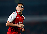 Arsenal's Alexis Sanchez in action during the premier league match at the Emirates Stadium, London. Picture date 25th September 2017. Picture credit should read: David Klein/Sportimage