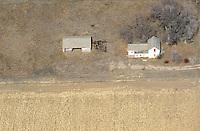 Abandoned farmhouse near Windsor, Colorado