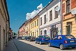 Ulica Tadeusza Kościuszki w Myślenicach, Polska<br /> Tadeusz Kościuszko Street in Myślenice, Poland