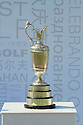 The Open Championship 'Claret Jug' currently held by Louis Oosthuizen (RSA) on display during the third round of the Dubai World Championship presented by DP World, played over the Earth Course, Jumeira Golf Estates on 27th November 2010 in Dubai, UAE......