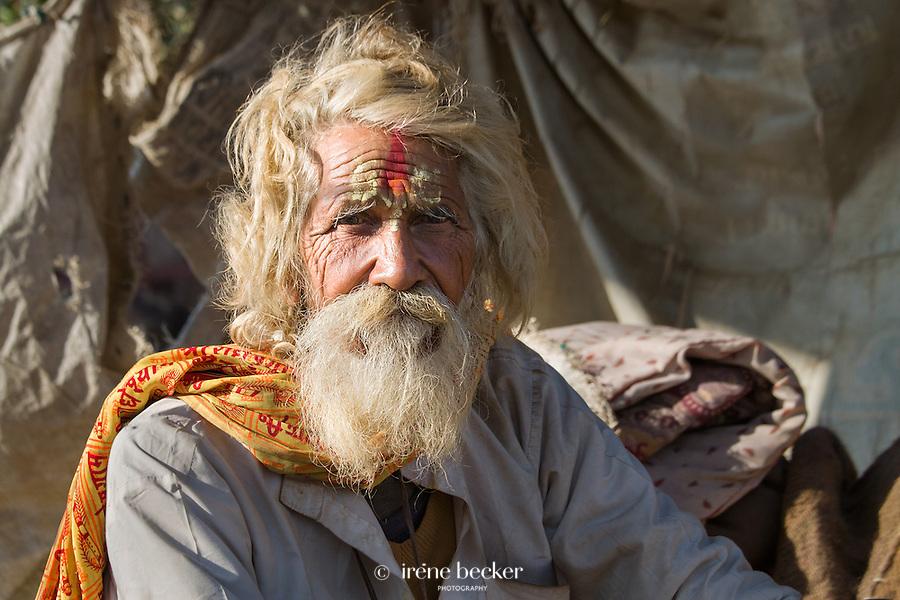 Sadhu from Vrindavan, Uttar Pradesh,  India.