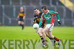 Kilcummin   v  Stacks in the County League Div 1 game at Austin Stack Park, Tralee, on Saturday.