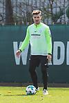11.04.2018, Trainingsgelaende, Bremen, GER, 1.FBL, Training SV Werder Bremen<br /> <br /> im Bild<br /> Jerome Gondorf (Werder Bremen #08), <br /> <br /> Foto &copy; nordphoto / Ewert