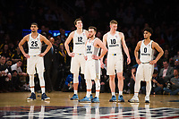 NEW YORK, NY - Thursday March 9, 2017: Marquette takes on Seton Hall in the Quarterfinals of the Big East Tournament at Madison Square Garden.