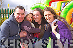 Padraig, Aoibheann, Emma and Bernie McCarthy at the Easter Egg hunt at Ballyseede Garden centre on Easter Sunday.