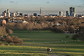 City of London skyline from Primrose Hill, Camden.