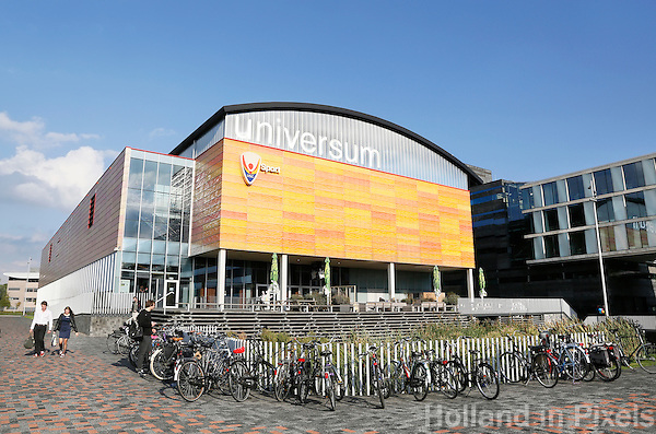 Nederland  Amsterdam  2016. Science Park. Sportcentrum Universum.  Foto Berlinda van Dam / Hollandse Hoogte