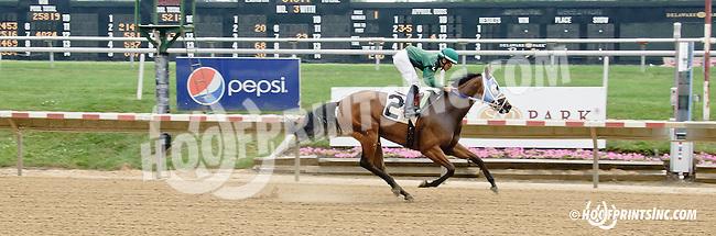 Killin Them Softly winning at Delaware Park racetrack on 7/2/14