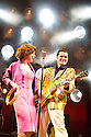 Million Dollar Quartet. Book by Colin Escott and Floyd Mutrux directed by Eric Schaeffer. With Michael Malarkey as Elvis Presley,Francesca Jackson as Dyanne. Opens at The Noel Coward  Theatre on 28/2/11  CREDIT Geraint Lewis