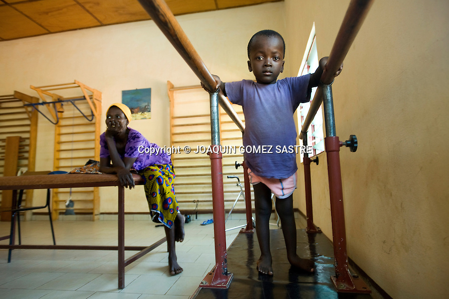 Niños en el centro de recuperacion Don Orione en Bombuaka (TOGO) .© JOAQUIN GOMEZ SASTRE