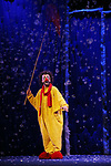 """Cast during a Sneak Peek of """"Slava's Snowshow"""" at The Stephen Sondheim Theatre on November 12, 2019 in New York City."""