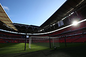 5th November 2017, Wembley Stadium, London England; EPL Premier League football, Tottenham Hotspur versus Crystal Palace; General view of inside Wembley Stadium in preparation before kick off