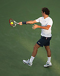 Roger Federer (SUI) defeats Alex Bogomolov (RUS) 6-3, 6-2