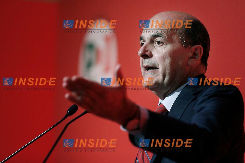 Il segretario del Pd Pier Luigi Bersani.Roma 31/07/2012 Partito Democratico - Presentazione della Carta d'intenti.Foto Serena Cremaschi Insidefoto