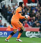 Arsenal goalkeeper Petr Cech during the premier league match at the Britannia Stadium, Stoke. Picture date 19th August 2017. Picture credit should read: Robin Parker/Sportimage