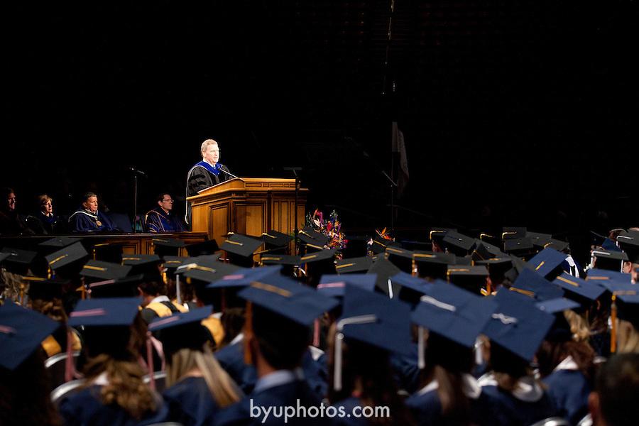 1108-38 575.CR2<br /> <br /> 1108-38 August Commencement<br /> Elder Craig Christensen, President Cecil O. Samuleson<br /> <br /> August 11, 2011<br /> <br /> Photo by Jaren Wilkey/BYU<br /> <br /> &copy; BYU PHOTO 2011<br /> All Rights Reserved<br /> photo@byu.edu  (801)422-7322