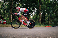 Stefan Küng (SUI/BMC)<br /> <br /> Stage 20 (ITT): Saint-Pée-sur-Nivelle >  Espelette (31km)<br /> <br /> 105th Tour de France 2018<br /> ©kramon
