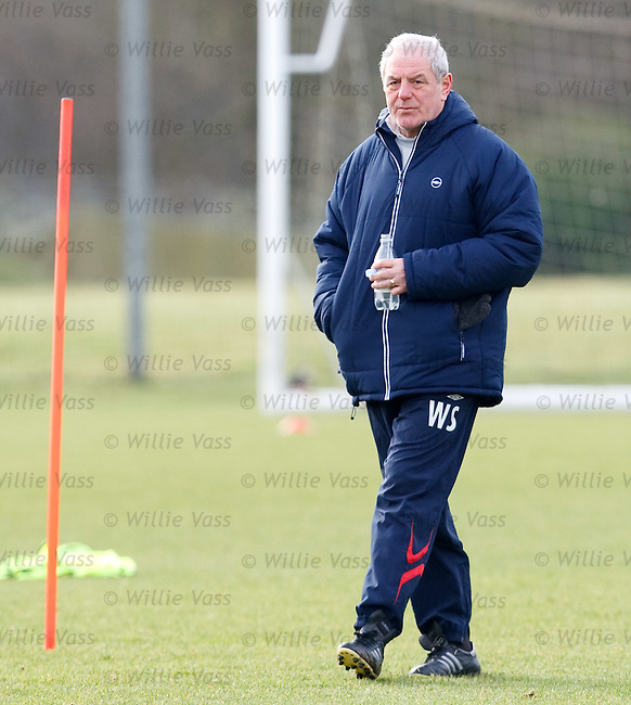 Walter Smith with bottle